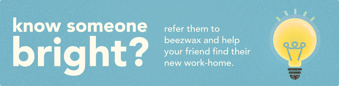 Beezwax jointheteam bright banners